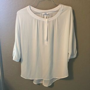 GLAM brand White Top - Functional Button